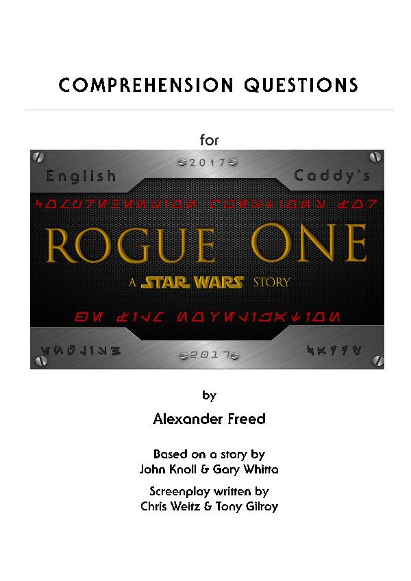 Reader's Companion Guide for Rogue One Reader's Companion Guide Rogue One
