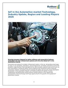 IoT in the Automotive market Technology, Industry Update 2025