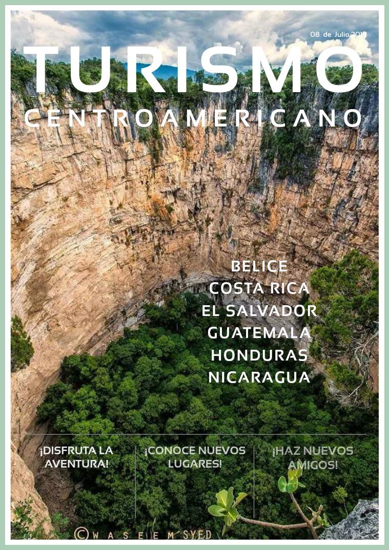 Mi primera publicacion Turismo centroamericano