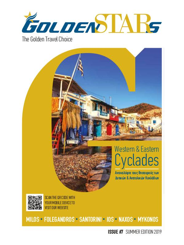 Golden Star Magazine Summer Edition 2019 Western & Eastern Cyclades