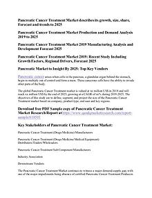 Pancreatic Cancer Treatment