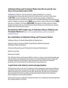 Alzheimer Disease Diagnostics and Treatment