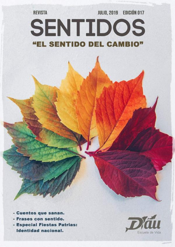 Revista Sentidos - JULIO 2019 Revista Sentidos - JULIO 2019