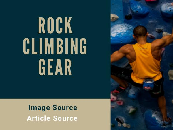 Where to Start With Rock Climbing Gear Rock Climbing Gear (1)