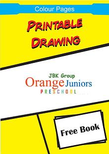 Cartoon Printable Color Pages for Children, Preschoolers and Kids
