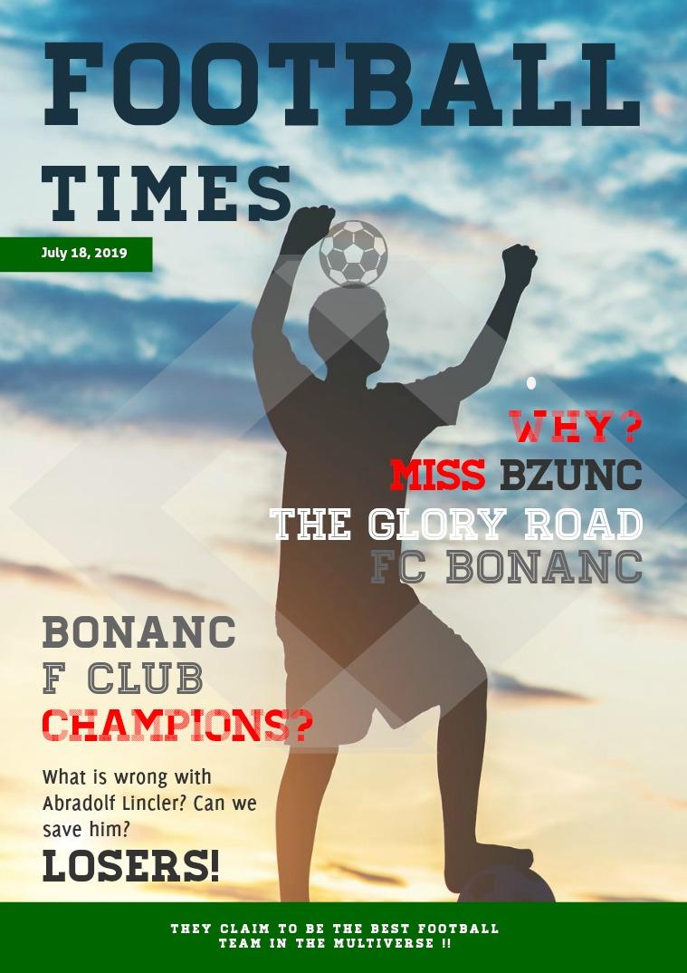 FooTBALL TIMES Bonanc FC