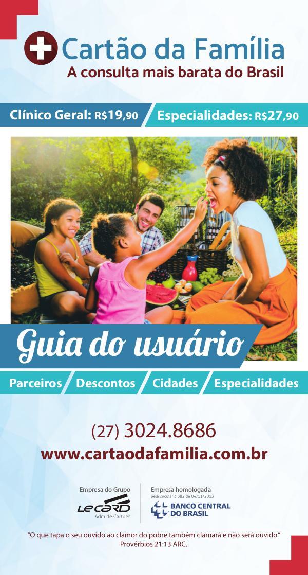 Revista Cartão da Família REVISTA 20,5 X 11