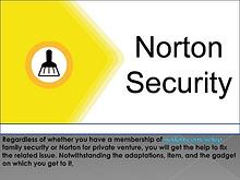 Get establishment and arrangement help for all forms of Norton: