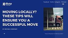 MOVING LOCALLY? THESE TIPS WILL ENSURE YOU A SUCCESSFUL MOVE