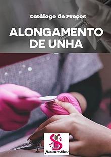 Catalogo de produtos para alongamento de unhas