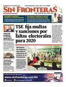 Edición N° 88 Semanario Sin Fronteras
