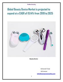 Beauty Device Market is projected to expand atCAGR of 19.14 from 2024