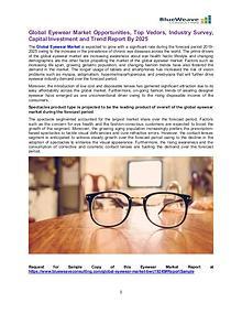 Global Eyewear Market Opportunities, Top Vedors, Industry Survey 2019