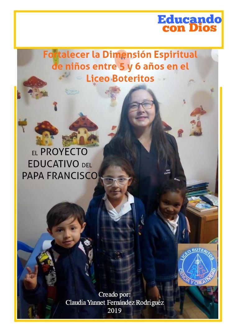 Educando con Dios N° 1 Fortalecer la Dimensión Espiritual de los niños