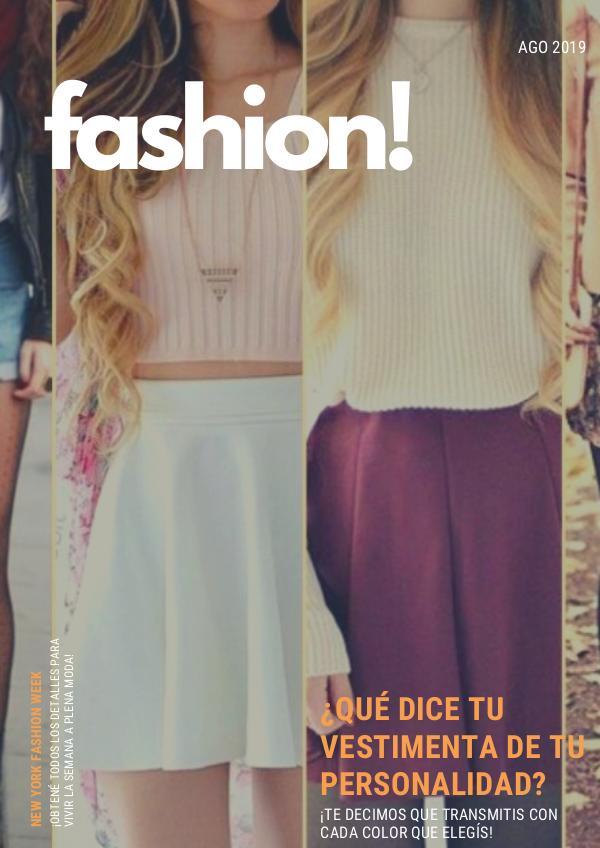 fashion! - Revista Sofía Biatturi Revista - Sofía Biatturi