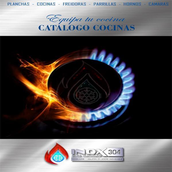 CATALOGO COCINAS INOX304 CATALOGO COCINAS 1.
