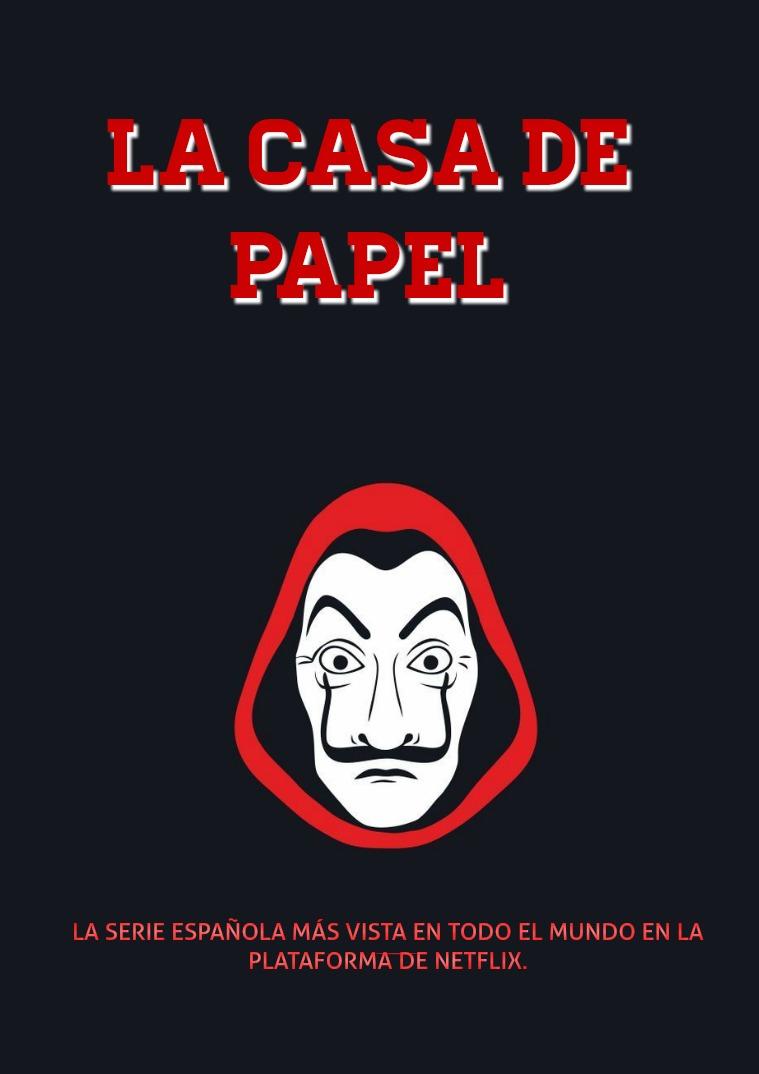 REVISTA LA CASA DE PAPEL