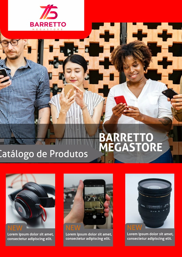 Catálogo de Produtos - Barretto Megastore Teste