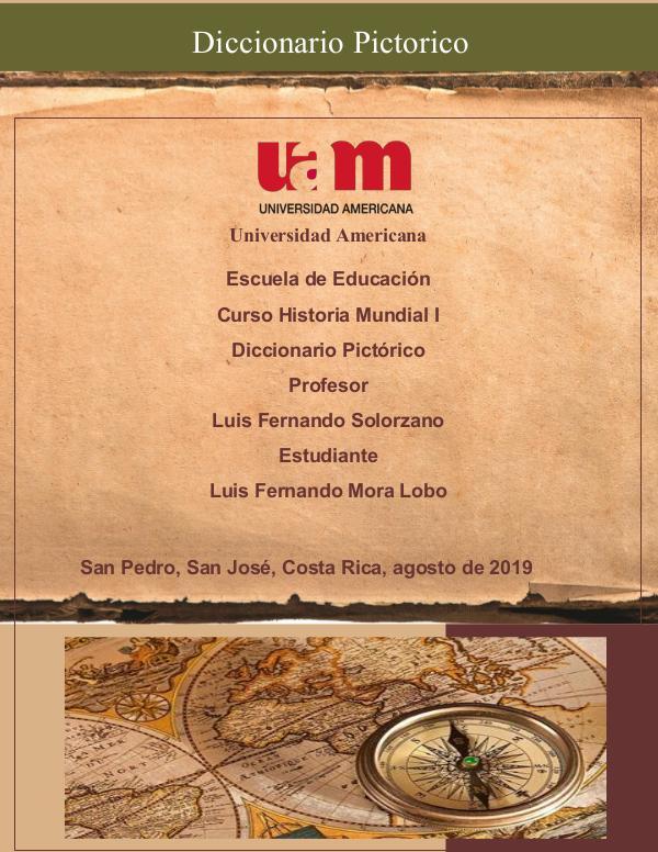 Diccionario Pictórico Luis Fernando Mora Pictorico Luis Mora