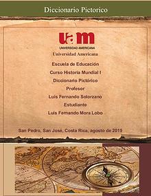 Diccionario Pictórico Luis Fernando Mora