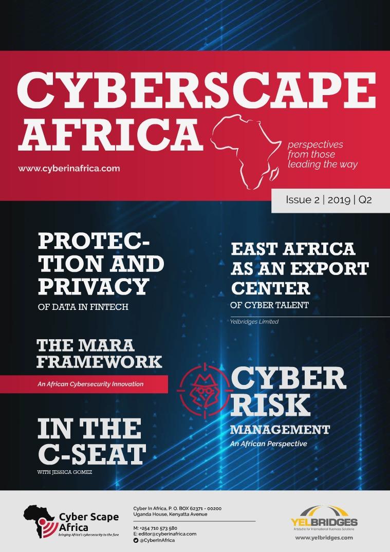 CyberScape Africa Magazine Q2 2019