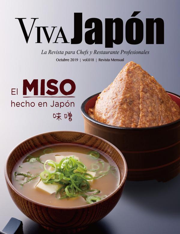VIVA JAPÓN magazine OCTUBRE issue  vol.018