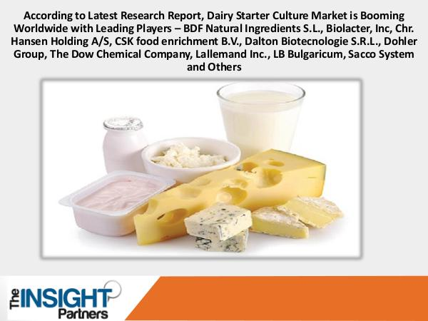 The Insight Partners Dairy Starter Culture Market