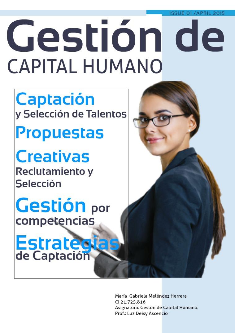 GESTIÓN DE CAPITAL HUMANO REVISTA DIGITAL