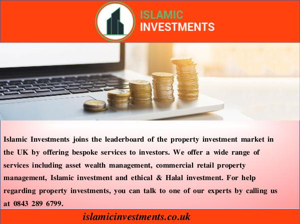 Islamic Investments commercial property management companies