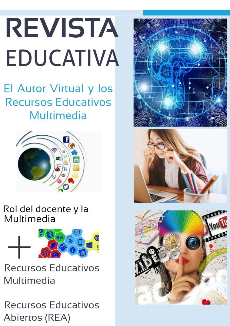 Mi primera publicacion El Autor Virtual y  Recursos Educativos Multimedia