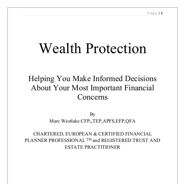 Wealth protection Wealth Protection white paper