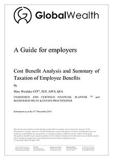 Employee benefits a guide for employers