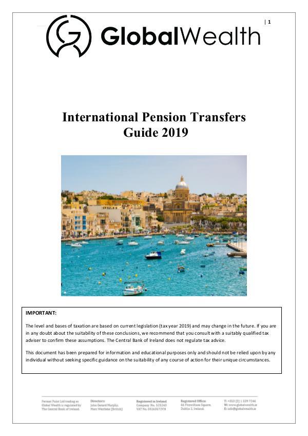 Pension transfers from Ireland International Pension transfers