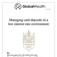 Managing cash in a low interest rate environment
