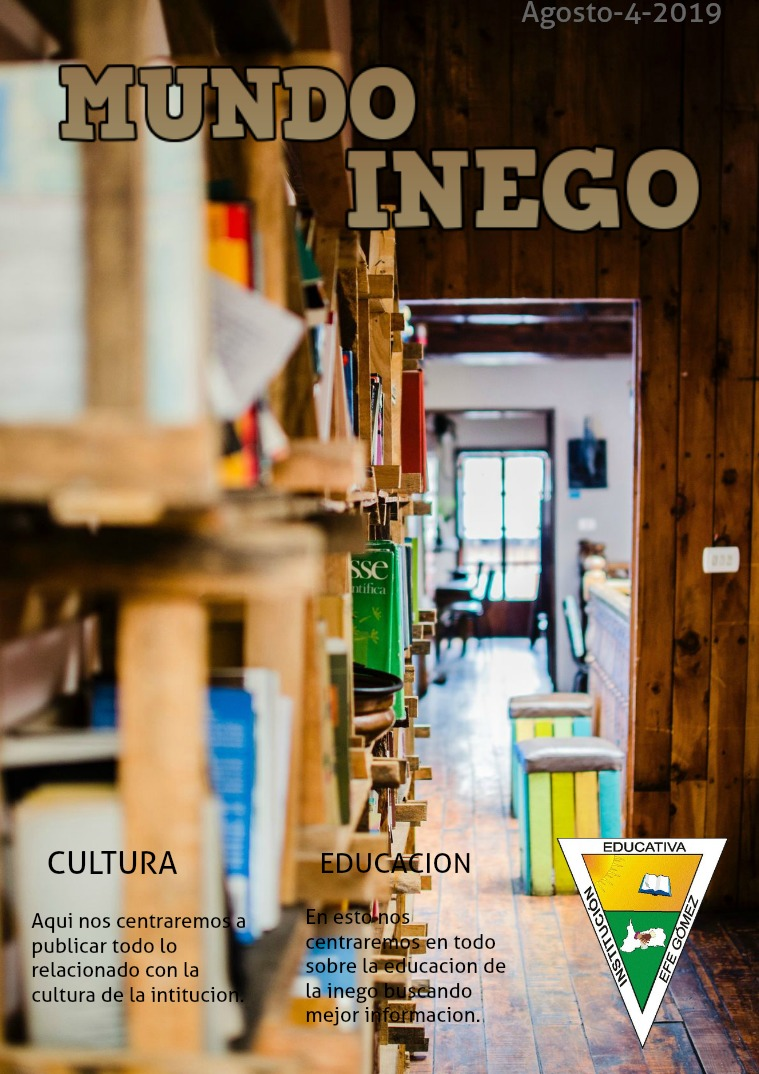 Mi primera publicacion MUNDO INEGO