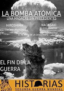 Bombas atomicas en la 2 G, Mundial