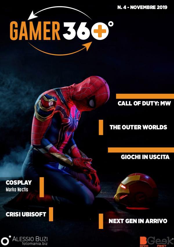 Gamer 360° Novembre 2019