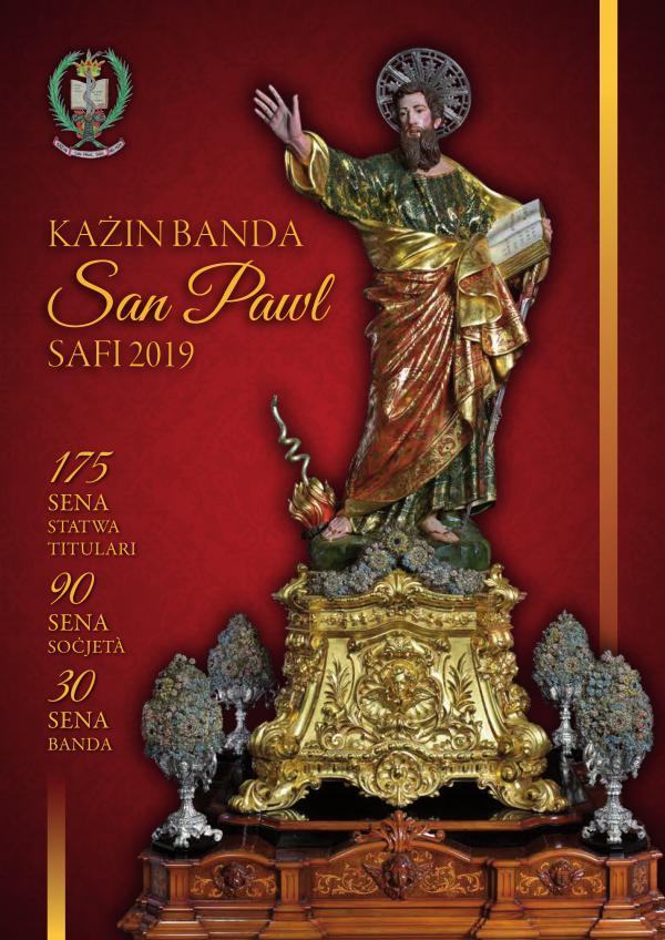 Ktieb Festa 2019, Każin Banda San Pawl Safi Ktieb Festa 2019, Każin Banda San Pawl Safi