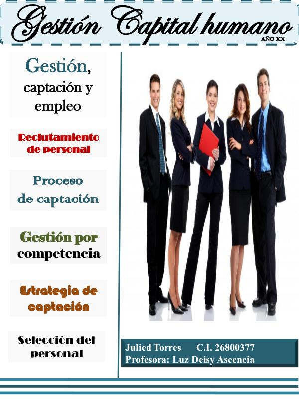 Gestión del Capital humano Revista Gestión capital humano