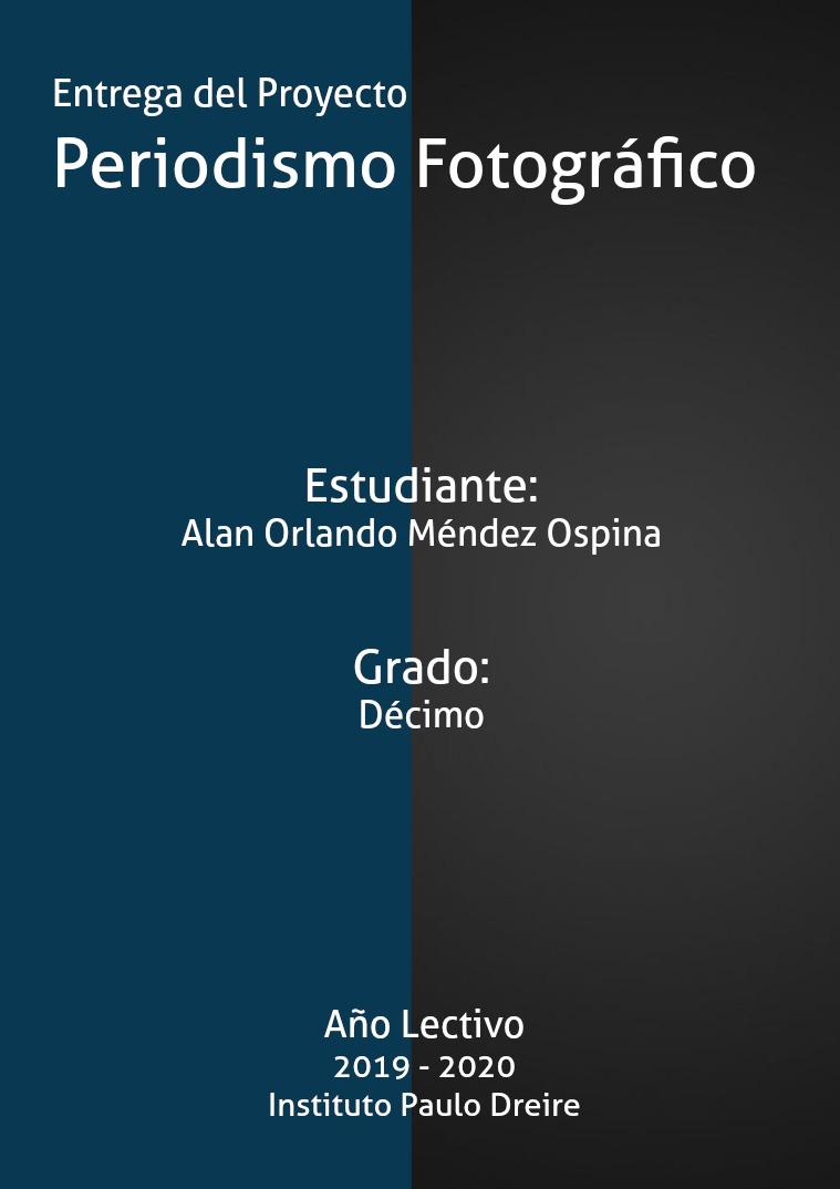 Periodismo Fotográfico Alan Méndez