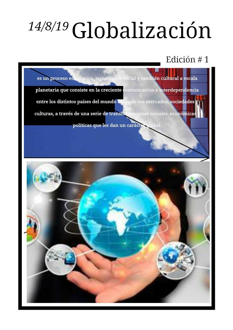 SOCIOLOGIA Globalización