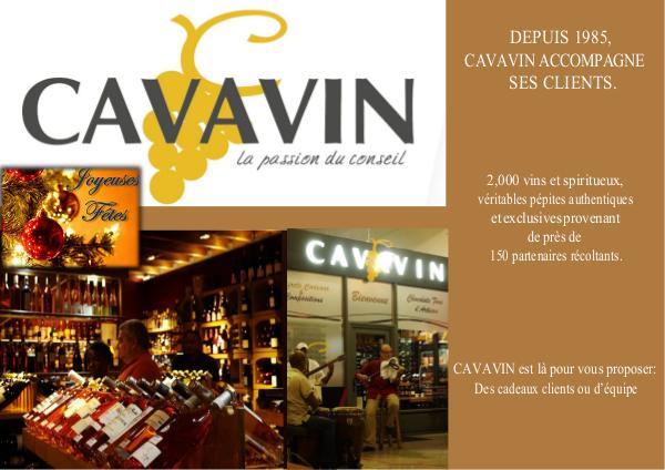 CATALOGUE DE FIN D'ANNEE GUYANE Plaquette_Cavavin_Guyane 2019