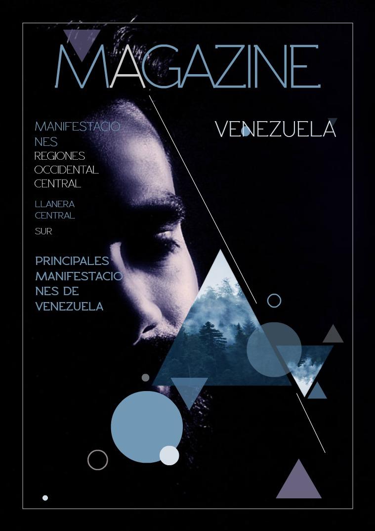Mi primera publicacion MANIFESTACIONES CULTURALES DE VENEZUELA