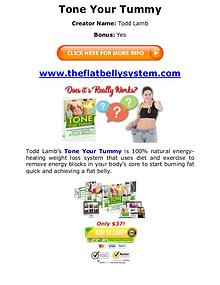 (PDF) Tone Your Tummy PDF Free Download: Todd Lamb