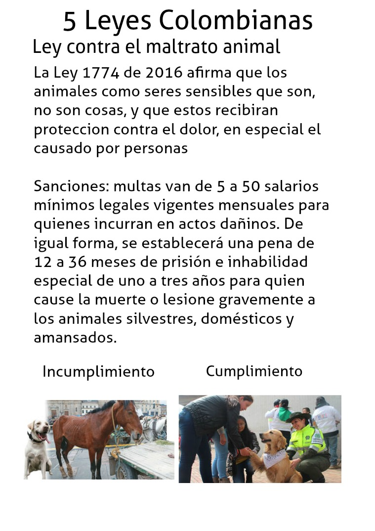 Leyes colombianas Leyes colombianas