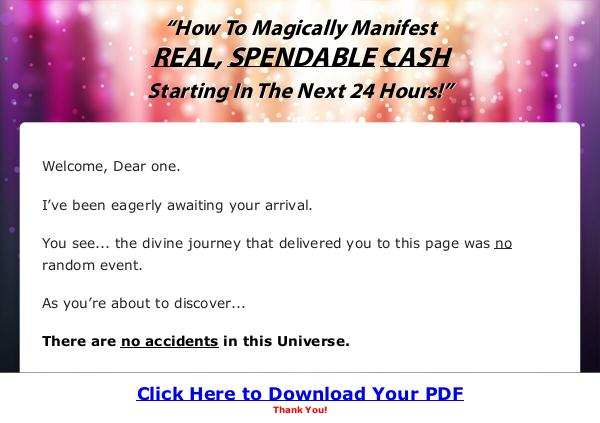 Manifestation Magic Ebook PDF Download Full Version 2019