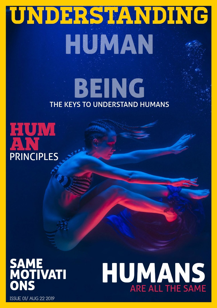 My first Publication Understanding Humans