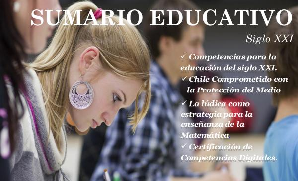 Sumario Educativo Sumario Educativo