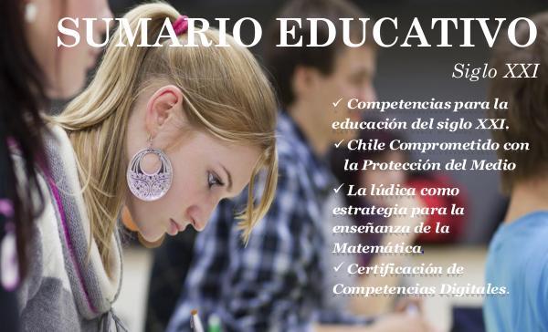 Sumario Educativo Sumario Educativo