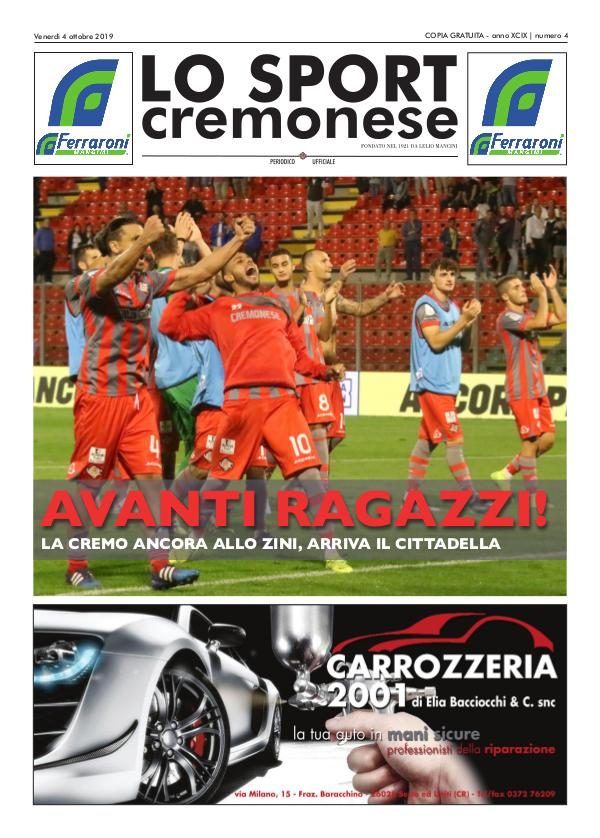 Lo Sport Cremonese 04 LO SPORT CREMONESE